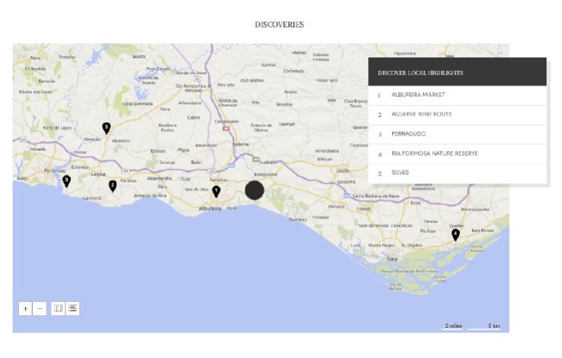 Anita Zaror PR Starwood Hotels Resorts Spain And Portugal - Portugal map resorts